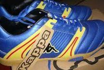 Kappa Sepatu Futsal T 2 - Biru