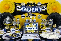 Superhero Parties / Batman Superman and superhero's parties