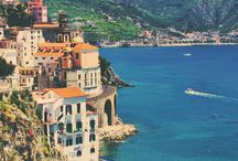 Amalfi Coast, Italy / Best enjoyed with shoes off, feet up and soaking it all in. The Amalfi Coastline: http://ow.ly/teTid / by Travelocity Travel