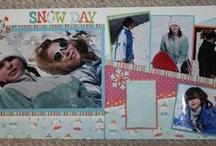 scrapbook layouts / by Julie Ferraro