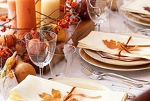 Holidays: Thanksgiving Decor / Create a beautiful space for your friends and family to come together.  / by Chula Vista Resort