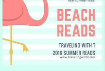 Beach Reads 2016 / Summer reads for your beach bag for 2016! #BeachReads make the world a happier place!