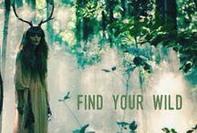Wild free Woman
