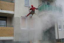 Usługi świadczone przez firmę Olanex / Firma Olanex oferuje swoim Klientom wykonywanie wszelkiego rodzaju prac wysokościowych przez wykwalifikowanych pracowników posiadających stosowne uprawnienia oraz czyszczenie różnego rodzaju nawierzchni. Jedną z usług jest czyszczenie elewacji budynków bez użycia rusztowań z wykorzystaniem myjek ciśnieniowych...Zobacz więcej: http://olanex.pl/66-zakres-uslug https://www.youtube.com/watch?v=xtqWrZPec2k