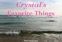 Crystal's Favorite Things / My loves.