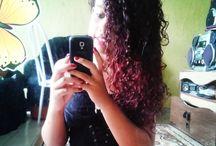 meu cabelos cacheado