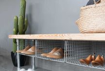 Shoes rack outdoor