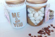 Mis tarros Handmade / Unos tarritos para regalar unos caramelitos para San Valentin
