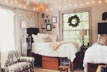 COLLEGE Dorm / College, College Dorm, Dorm room, dorm decor, cute dorm, cute college dorm, organized dorm, college life