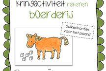 .// School: Kleuters - Boerderij