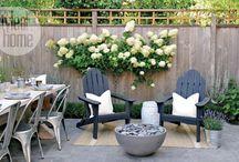 backyard / Ideas and inspiration for the backyard