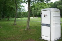 JOTS Out on the Course / Our Celebrity Restroom is no eyesore on the golf course!