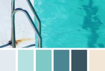 Blue Color / Combinations and tones of blues