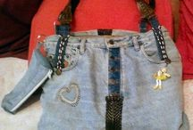 Bag jeans / Recycling jeans