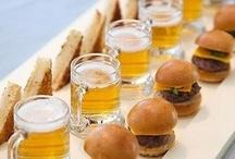 Wedding reception food / Ideas