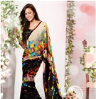 Stylish Pure Fabric Sarees / Go stylish with our all new range of pure fabric designer party wear printed sarees that will increase the oomph factor in your style....Buy any item from our collection & get gift worth Rs. 500 absolutely FREE....Take a glimpse of the collection at http://www.sareesbazaar.com/Sarees/Pure-Fabric-Sarees-265.html