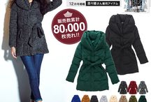 Ladies Winter Fashion! / Warm up for winter with Rakuten's winter range! / by Rakuten Global Market