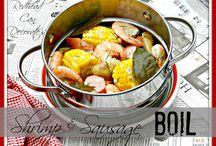 dinner seafood / by Wendy Nicholson-Scalph