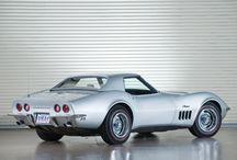 Corvette c2 et c3 / Corvette c3 grise