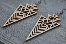 wooden jewelry