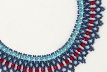 Beaded necklace patterns