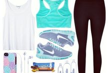 Workout / Workouts, workout clothes, etc.
