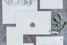 { inspire } styling: wedding stationery / beautiful wedding stationery styling