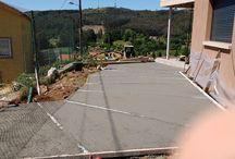 My New Frontyard / pavimento suelo pulido