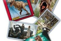 Jurassic World Collection / Panini have brought the new movie to life with the all new Jurassic World Sticker Collection.