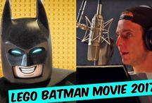 The Lego Batman Movie Voice Actors [2017] Porfirios Guarding This Channel