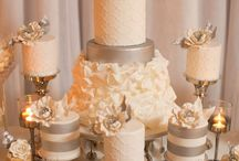 Wedding Colour- Ivory and Silver / Classic, stylish, understated chic, ivory and silver were meant for each other! There's no doubt that ivory and silver is a 'cool' (as opposed to 'warm') colour combination  however warmth can be added through the tones of silver you add.