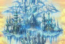 fantasy - krajiny,města