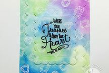 Bible Journaling   God's Treasure Stamp set from Joy Clair / This board showcases Bible Journaling projects created using Joy Clair's Color by Faith series stamp set God's Treasure