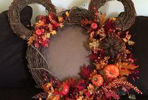 Fall/ Halloween decorations