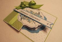 Stampin Up Birthday Cards