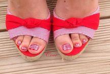 Galerie pédicure / Mes Nail Arts sur pieds