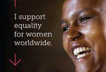 International Women's Day 2016 / Gender equality worldwide