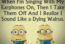 minions / The pictures that make me laugh and smile even though I can't relate to all of them