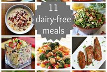 Dairy Free Meals / by Allison Luyster