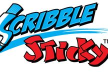 Scribble Sticky / Reusable Write On - Stick On - Reminder Products!
