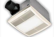 Bathroom Ventilation Fans, Lights & Heaters | Exhaust Fan lights, Heat Vents