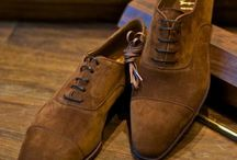 Chaussures à mon pied / Brown suede shoes