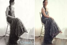 Romantic Vintage Wedding / Crystal Clear Photography - Comox Valley Wedding