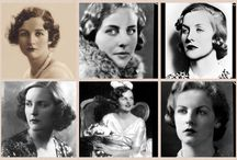 The Mitford Girls - et alia / To quell my intrigue of these girls and their family. Nancy, Pamela, Diana, Unity, Decca and Debo.