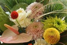 【お正月】生花 / Flower note お正月の生花アレンジギャラリーです