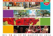 25ª Fiestas de la Industria, el Comercio y la Cultura en Itagüí / Excelente programación para disfrutar en familia, una semana con la mayor variedad artística para que la alegría y la pujanza de nuestro municipio sean festejados en paz.  Los eventos son totalmente gratis.