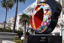 PEACE AND LOVE / Sculptures de l'artiste Pop Thierry Trivès