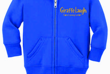 Giraffe Laugh Logo Wear / Order Giraffe Laugh gear to help promote our mission of ensuring school readiness, empowering families and building strong futures. http://gwearstores.com/vendor/Giraffe%20Laugh%20Store/ / by Giraffe Laugh