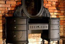 Трюмо / Трюмо, туалетные столики разных эпох и стилей. Современные концепты.