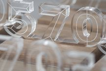 Laser cut plexi awards / Awards that are mainly made out of plexi and laser cut into shape. By 3D Trophy Factory